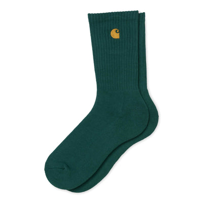 Carhartt WIPChase Sock | Dark Fir - CROSSOVER
