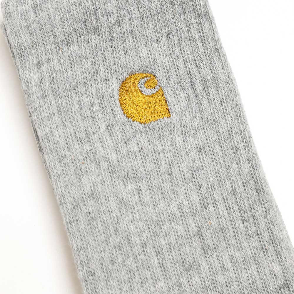 Carhartt WIP Chase Socks | Grey Heather - CROSSOVER
