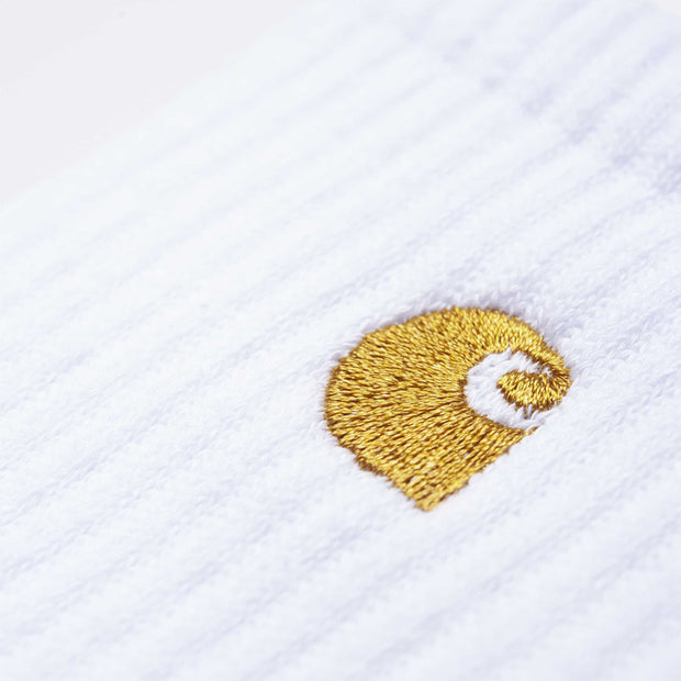Carhartt WIPChase Sock | White - CROSSOVER