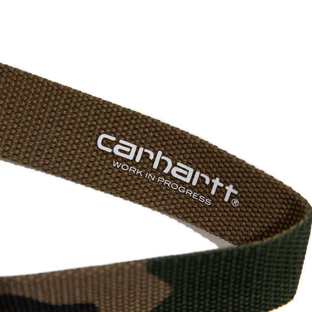 Clip Belt Chrome | Camo Laurel