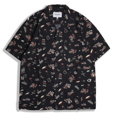 Carhartt WIP Club Pacific Shirt | Black - CROSSOVER