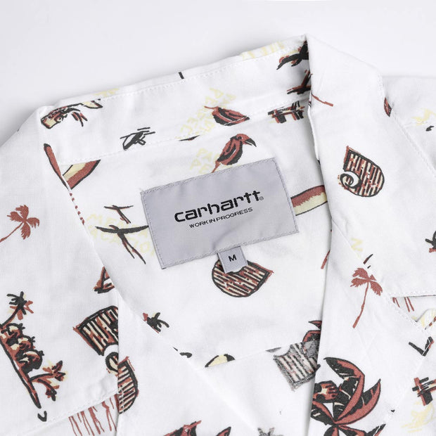 Carhartt WIP Club Pacific Shirt | Wax - CROSSOVER