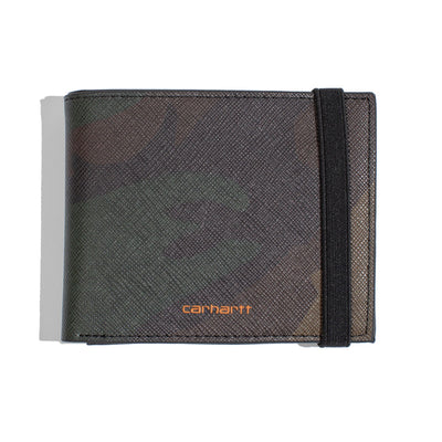 Coated Billfold Wallet | Camo Laurel