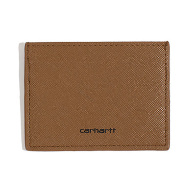 Carhartt WIPCoated Card Holder | Hamilton Brown - CROSSOVER