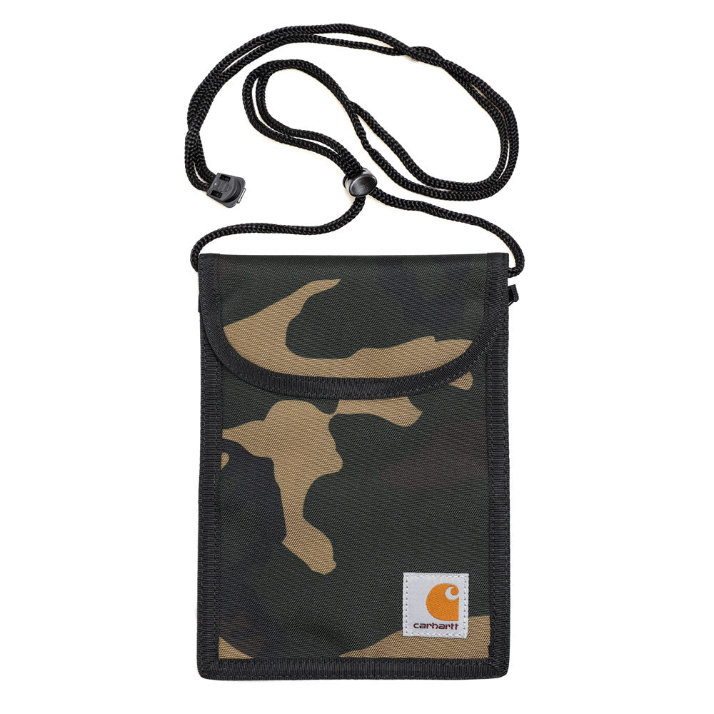 Carhartt WIP Collins Neck Pouch | Camo Laurel - CROSSOVER