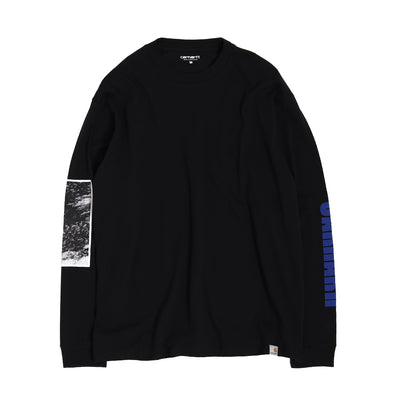 Carhartt WIPDeep Space LS Tee | Black - CROSSOVER