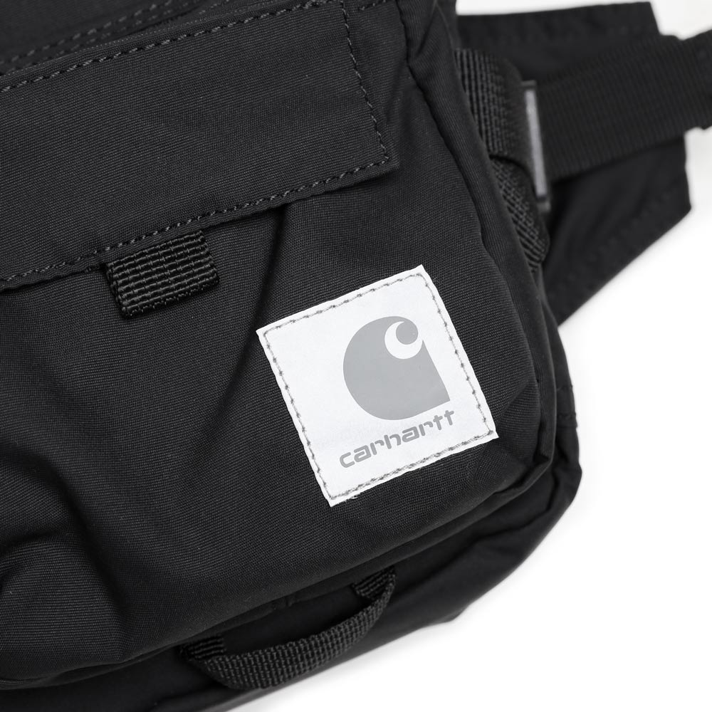Carhartt WIP Elmwood Hip Bag | Black - CROSSOVER