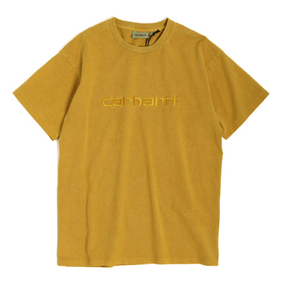 "Carhartt WIP Carhartt Embroidery Tee ""Garment Dye"" 
