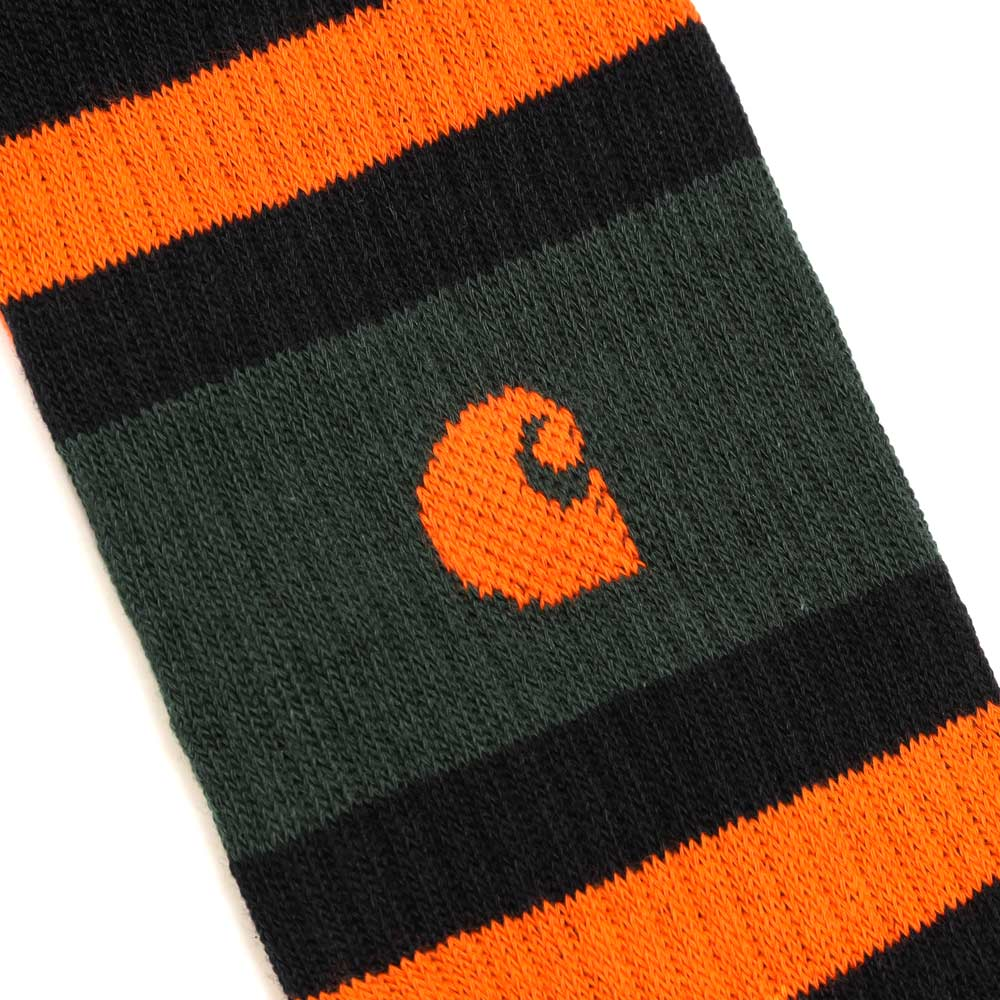Carhartt WIP Fairfield Sock | Black - CROSSOVER