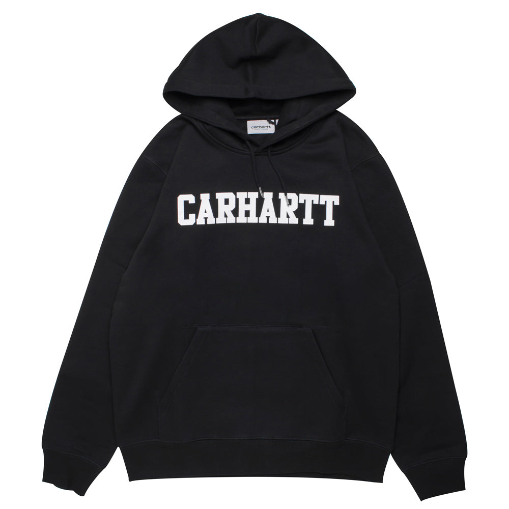 Carhartt WIP Hooded Faculty Sweat | Black - CROSSOVER