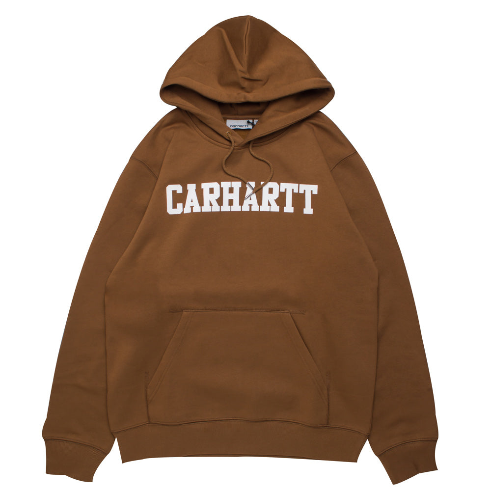 Carhartt WIP Hooded Faculty Sweat | Hamilton Brown - CROSSOVER