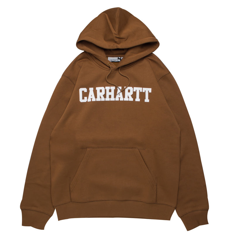 Carhartt WIP Hooded Faculty Sweat | Hamilton Brown - CROSSOVER ONLINE