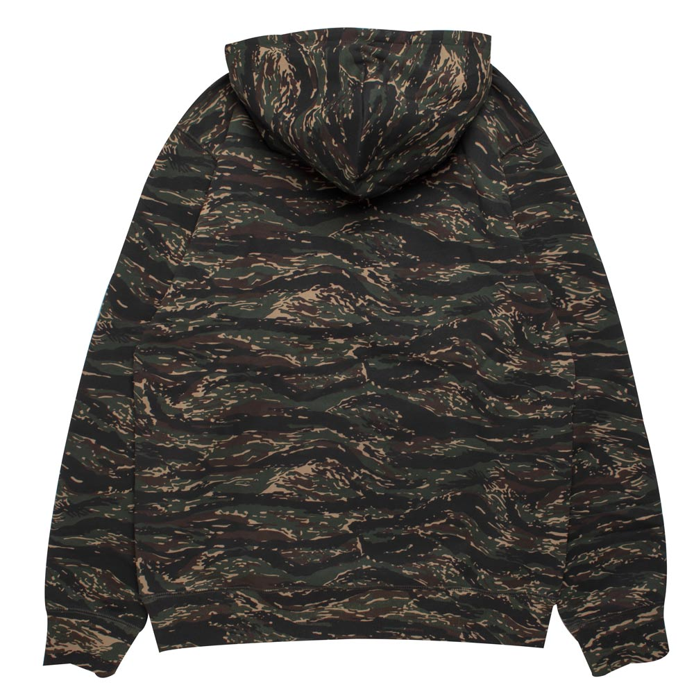Carhartt WIP Hooded Faculty Sweat | Camo Tiger - CROSSOVER