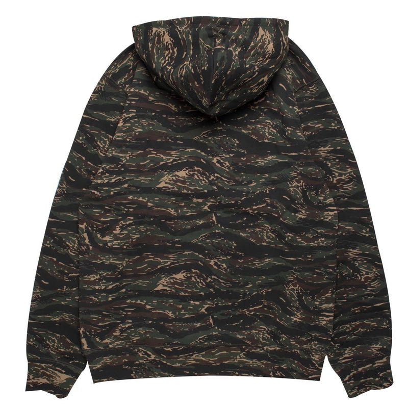 Hooded Faculty Sweat | Camo Tiger