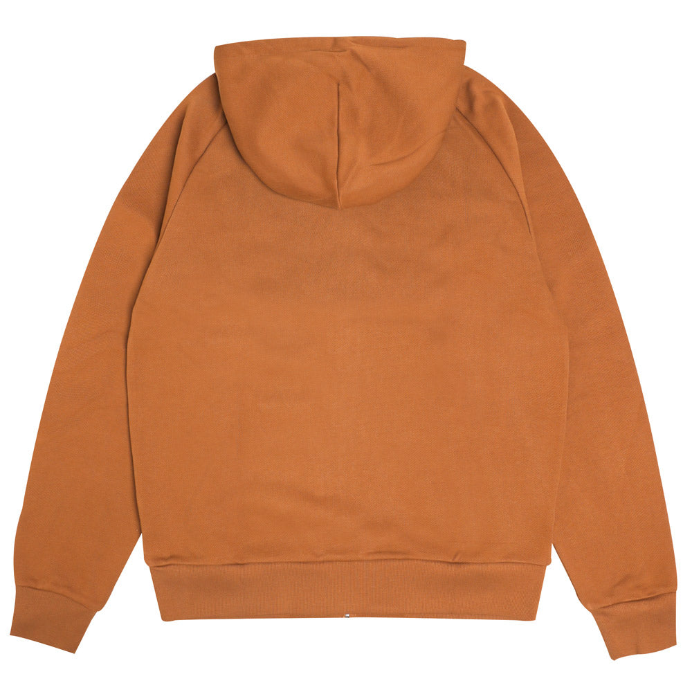Hooded Square Label Jacket | Hamilton Brown