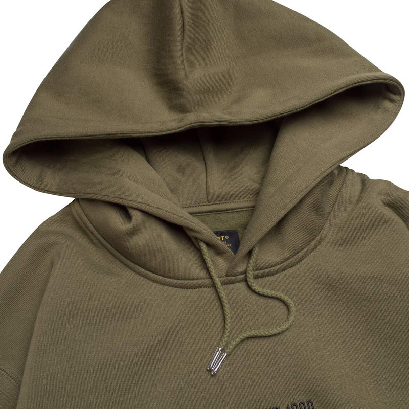 Carhartt WIP Hooded Survival Sweat | Rover Green - CROSSOVER ONLINE