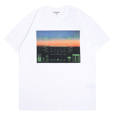 Carhartt WIP HUD Tee | White - CROSSOVER