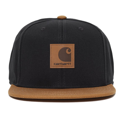 Carhartt WIPLogo Cap Bi-Colored | Black - CROSSOVER