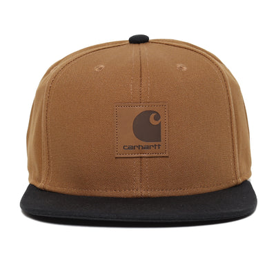 Carhartt WIPLogo Cap Bi-Colored | Hamilton Brown - CROSSOVER