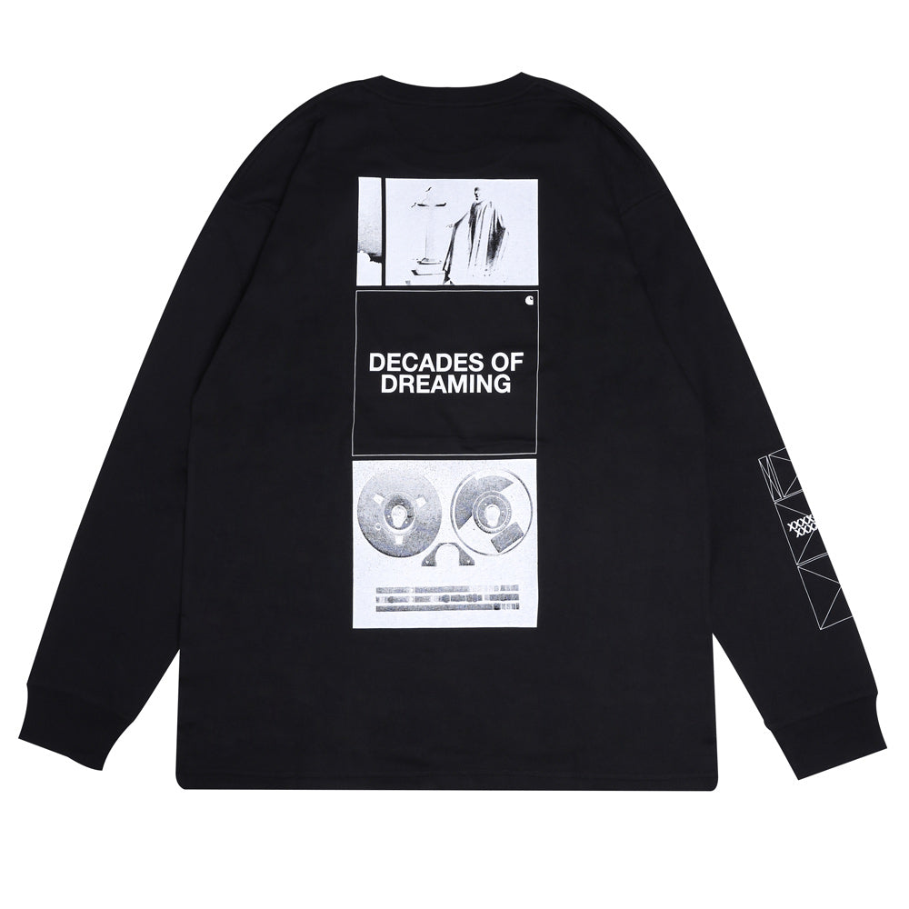 Carhartt WIP Dreaming L/S Tee | Black - CROSSOVER
