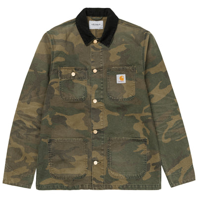 Carhartt WIP Michigan Coat | Camo Laurel - CROSSOVER