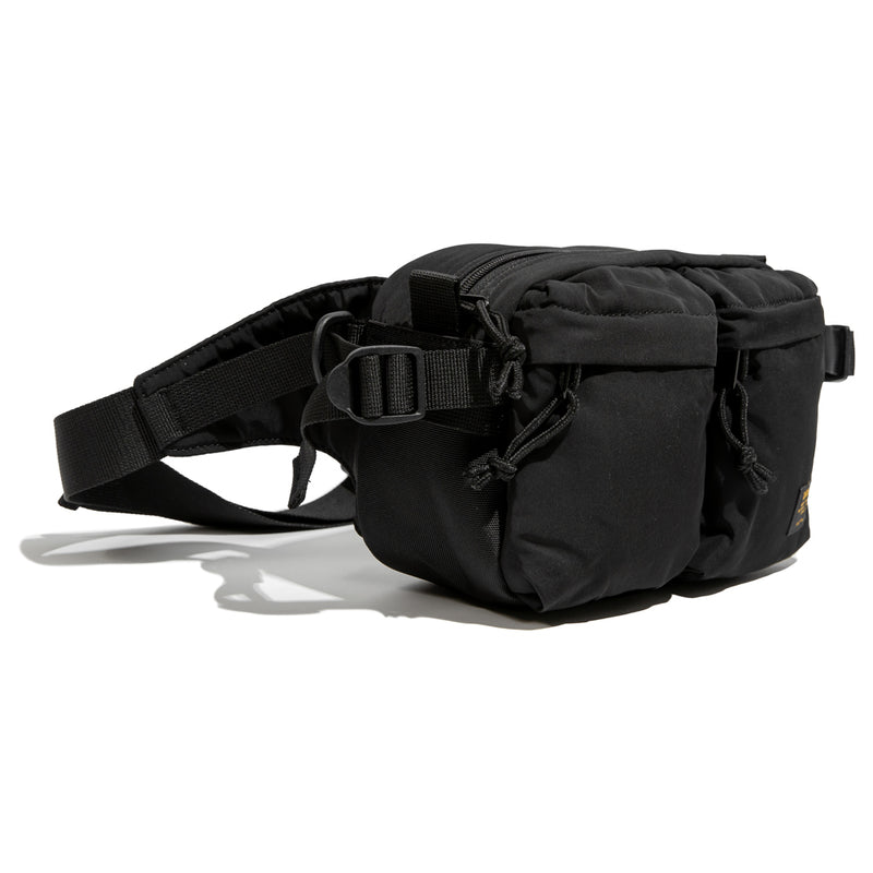 Carhartt WIP Military Hip Bag | Black - CROSSOVER ONLINE