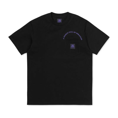Motown Pocket Tee | Black