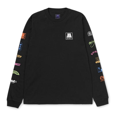 Motown Sublabels LS Tee | Black