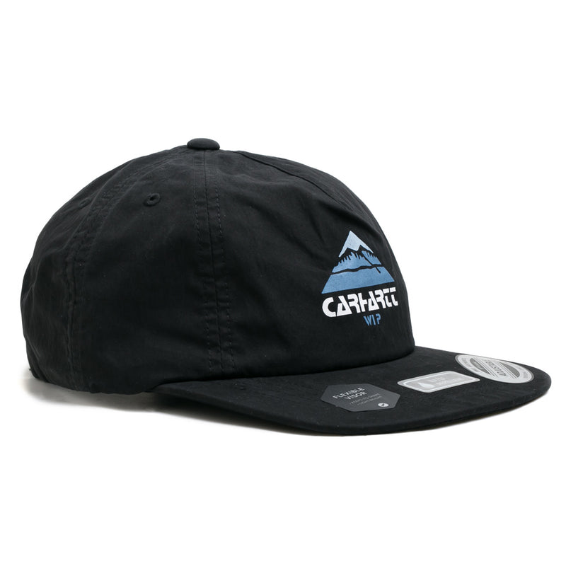 Carhartt WIP Mountain Cap | Black - CROSSOVER ONLINE