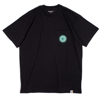 Carhartt WIPNote Pocket Tee | Black - CROSSOVER