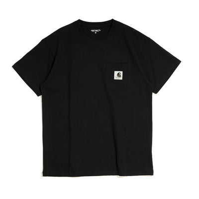 Carhartt WIPOutdoor C Label S/S Tee | Black - CROSSOVER