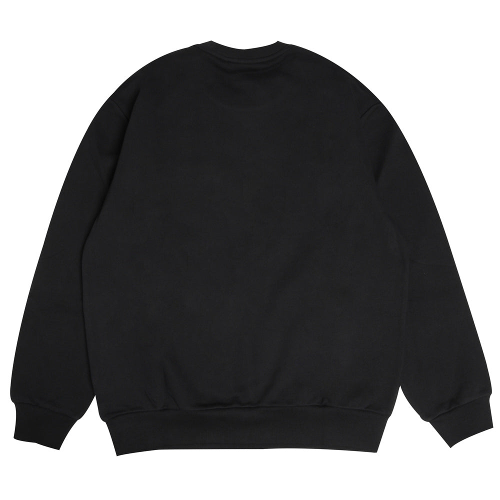 Pocket Loose Sweatshirt | Black