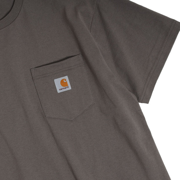Carhartt WIPPocket Loose Tee | Air Force Grey - CROSSOVER
