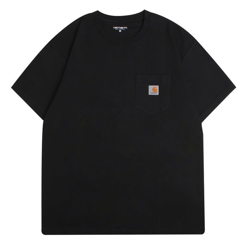 Carhartt WIP S/S Pocket Loose Tee | Black - CROSSOVER ONLINE
