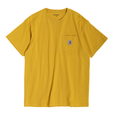 Carhartt WIP Pocket Loose Tee | Colza - CROSSOVER