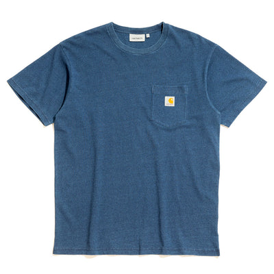 Pocket Loose S/S Tee | Indigo Blue