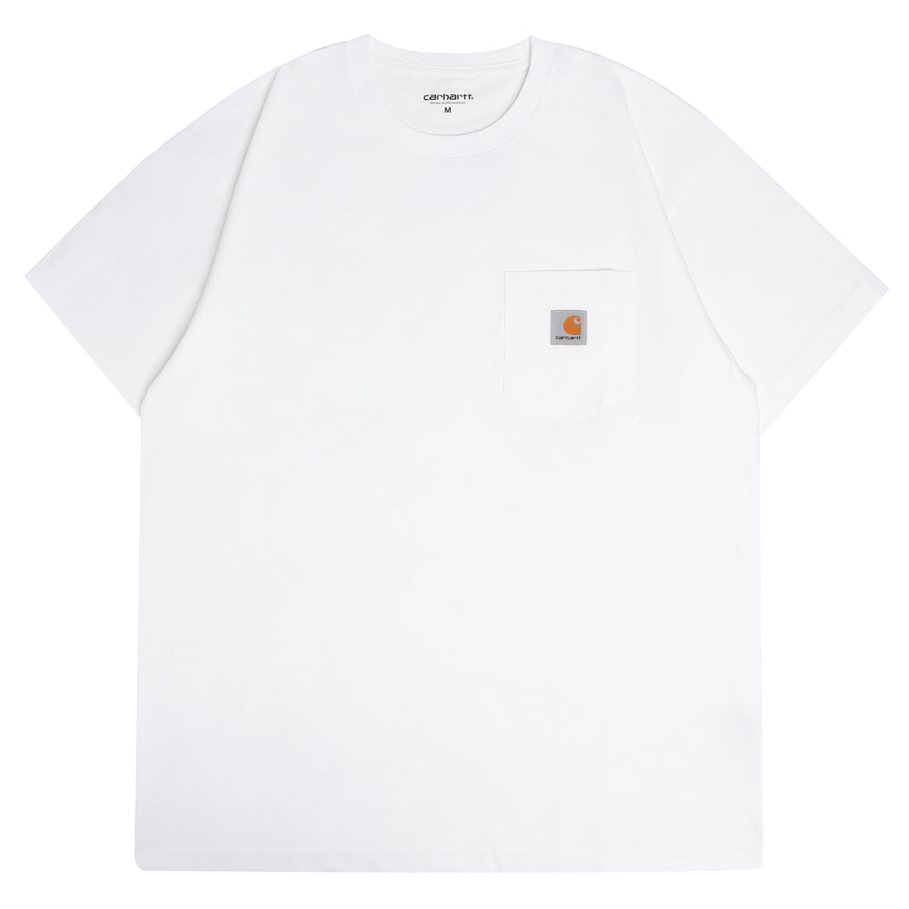 Carhartt WIP Pocket Loose Tee | White - CROSSOVER