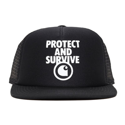 Protect & Survive Trucker Cap | Black