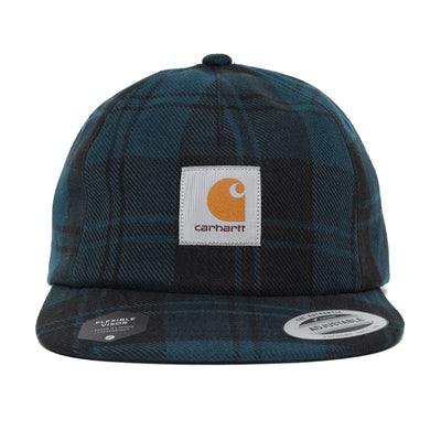 Carhartt WIP Pulford Cap | Duck Blue - CROSSOVER