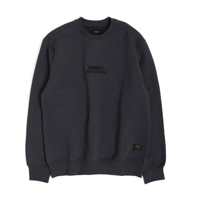 Carhartt WIPRolf Sweatshirt | Blacksmith - CROSSOVER