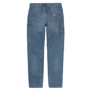 Carhartt WIPRuck Single Knee Pant | Blue Worn Bleached - CROSSOVER
