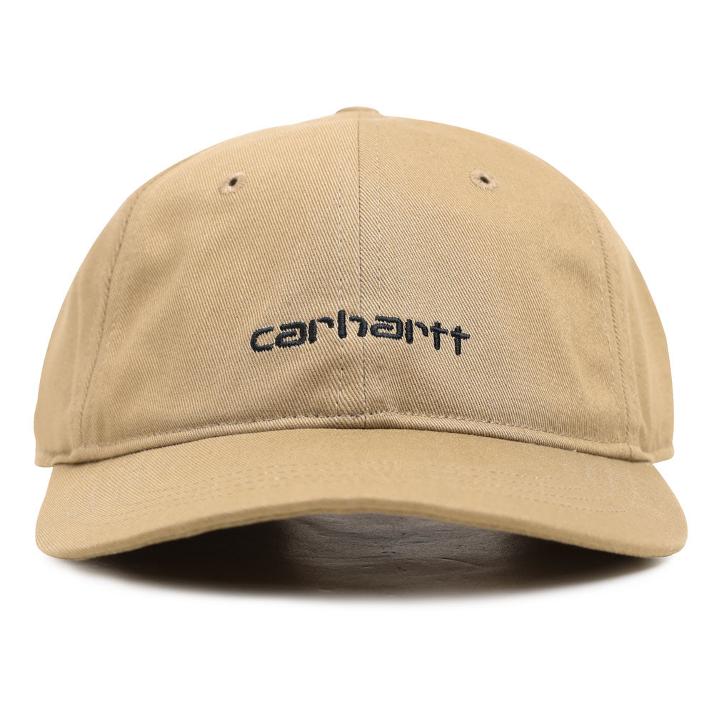 Carhartt WIP Script Logo 6-Panel Cap | Leather - CROSSOVER