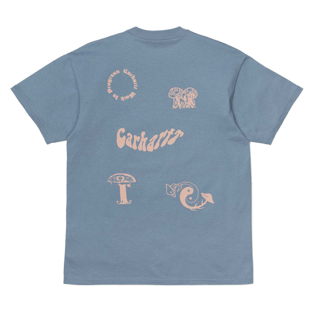 Carhartt WIP Shroom Tee | Cold Blue - CROSSOVER