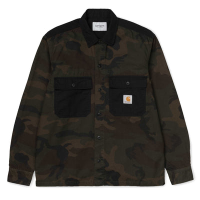 Carhartt WIPSierra LS Shirt | Camo Evergreen - CROSSOVER