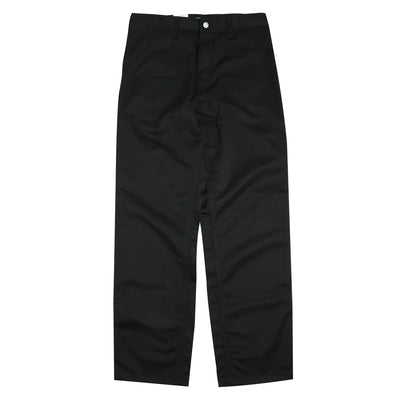 Carhartt WIP Simple Pant | Black - CROSSOVER
