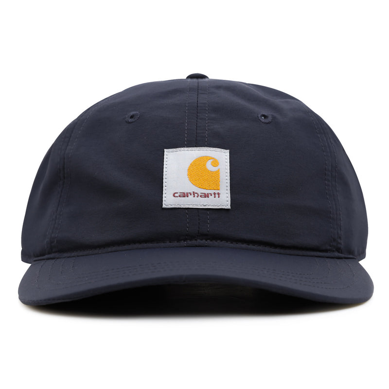 Carhartt WIP Square Label 6-Panel Cap | Navy - CROSSOVER