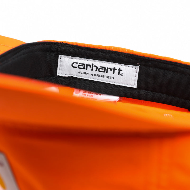 Carhartt WIP Square Label 6-Panel Cap | Pepper - CROSSOVER