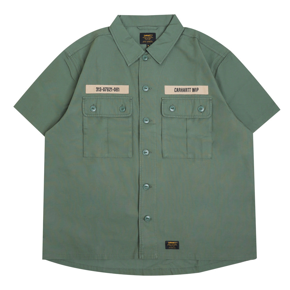 Carhartt WIP Adam S/S Shirt | Adventure - CROSSOVER