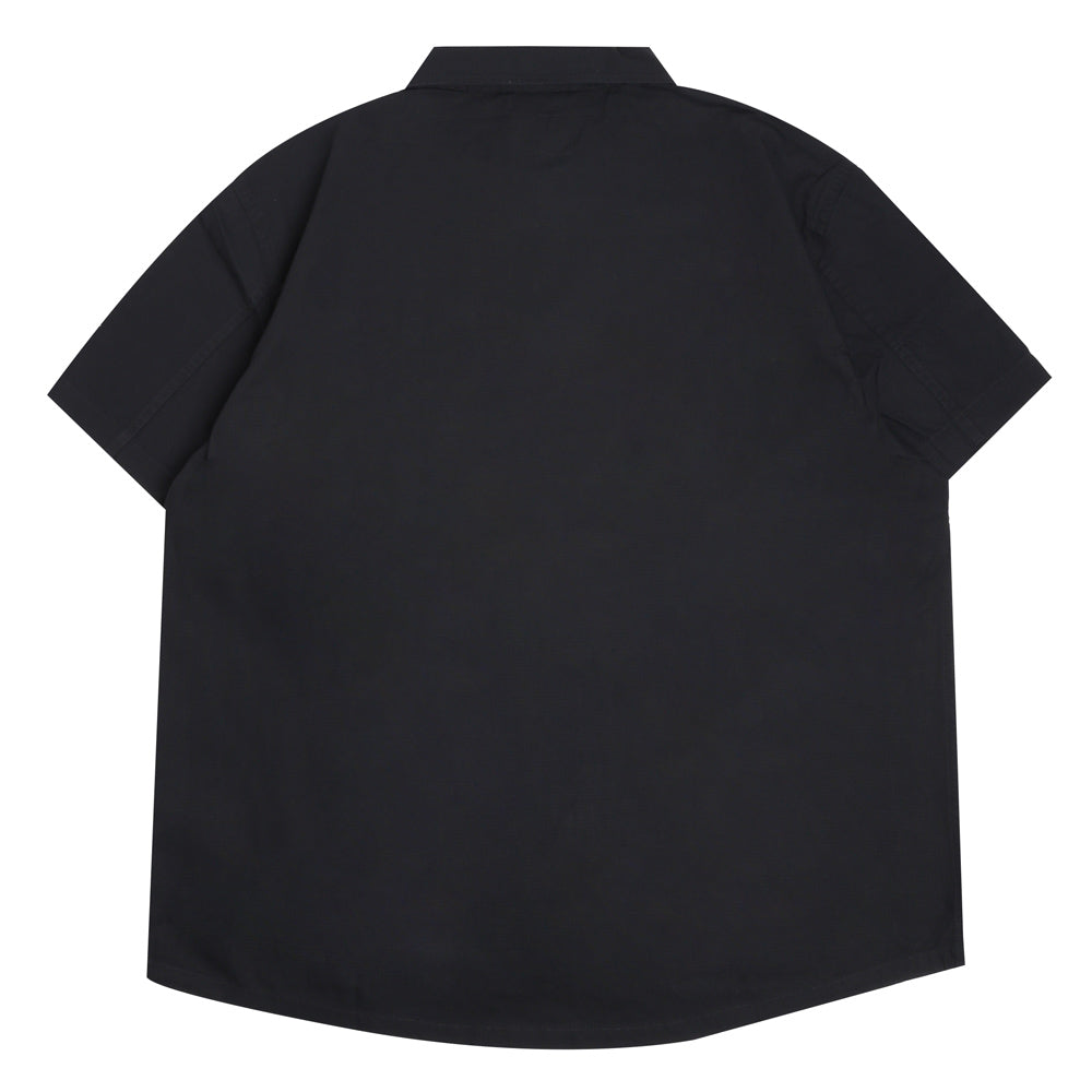Carhartt WIP Adam S/S Shirt | Black - CROSSOVER