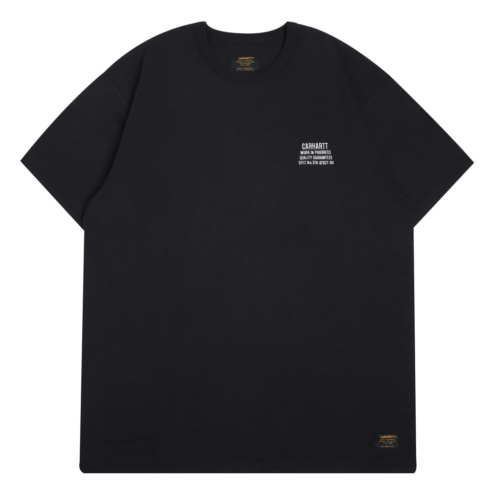 Carhartt WIP Seth S/S Tee | Black - CROSSOVER